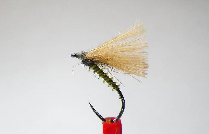Olive Biot Quill CDC Fly