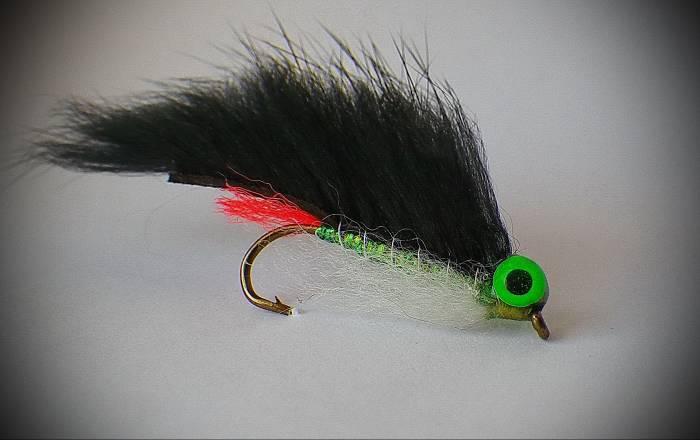 Fliegentom Streamer 3 pieces black Zonker